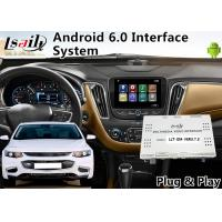 Quality Android 6.0 Auto Interface for Chevrolet Malibu / Equinox My Link System 2015-2018 Waze Mirror link , GPS Navigation for sale