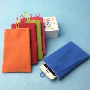 Quality Colored Velvet Drawstring Bag Design Your Own Drawstring Bag for Phone for sale