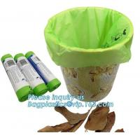 Quality Fruit Packing Bio Compostable Bags , Pet Dog Biodegradable Waste Bags for sale