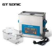 China 6L 3D Printer Parts Ultrasonic Cleaner Stainless Steel Tank With LED Digital Display 40kHz on sale