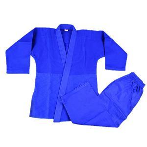 China Professional manufacture martial arts judo uniforms 100% cotton blue judo gi on sale