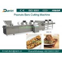 Quality Oatmeal bar , peanut brittle , grain bar machine for forming and cutting for sale