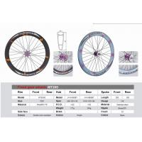 Quality Double Color Anodized Fixed Gear Wheels Alloy6061-T6 Aluminum Bicycle Wheel for sale