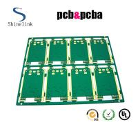 Quality Video RoHS pcb single sided with connecting finger HASL lead fre for sale