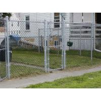 Quality ASTM 392 standard chain link fence with 1.2 oz zinc mass for sale