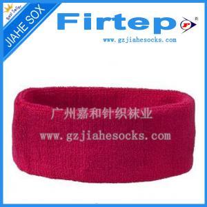 Quality custom socks design logo sweat wristbands sports sweat wristband for sale