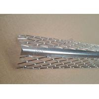 Quality 2.7m Length Galvanized Plaster Angle Bead Diamond Mesh 5cm Wings for sale