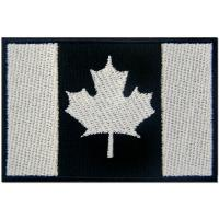 Quality Canada Flag USA Embroidered Cloth Badges Patches Felt Paper Backing for sale