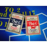 Buy cheap Bee Poker Size Standard Bet Playing Cards Bicycle Playing Cards 12 Sets In Pack from wholesalers