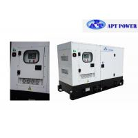 Buy cheap 4 Cylinders Engine Soundproof Diesel Generator Set 63kVA Prime Output @ 1500rpm product