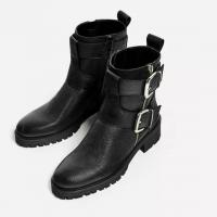 Quality Ladies Fashion Boots with PU upper and TPR outsole low heel for sexy women for sale