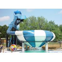 Quality Large Space Bowl Water Slide / Water Park Slide For Water Park Games for sale