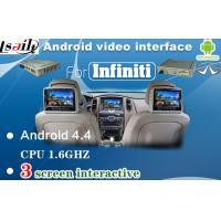 Quality Car Android Auto Interface With Mirro Link WiFi DVD Input For Infiniti Q50 / Q50L / Q60 for sale