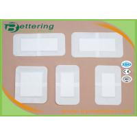 China Hypoallergenic Medical Wound Dressing Bandage , First Aid Plaster Wound Care Pad on sale
