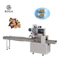 China Pillow Pouch Packaging Machine For Cookies Milk Candy Sugar Toast Bread Ice Popsicle on sale