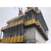 China Hot Galvanizing Climbing Formwork System Main Platform 2.4m Wide For Safe Operation on sale