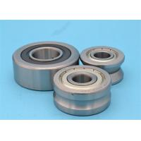 Quality Precision Grinding V Groove Wheels Track Rollers , Ball Bearing Rollers Track for sale