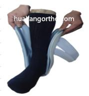 Quality AS-02 Air/foam ankle stirrup Recyclable Drop Foot Support Orthotics , Universal Size Ankle Foot Orthosis Shoes for sale