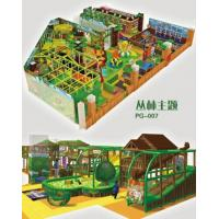Quality Indoor soft playground in fantasy colors design and games for kids in forest theme for sale