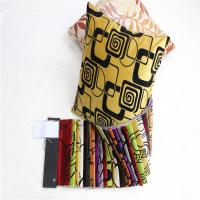 China Shrink - Resistant Patterned Microfiber Fabric Upholstery Plush Fabric on sale