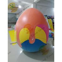 China Oxford Advertising Inflatable Easter Egg / Custom Made Inflatables Easy Set Up on sale