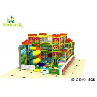 Quality Kindergarden Kids Indoor Playground With Rotary Slide for sale