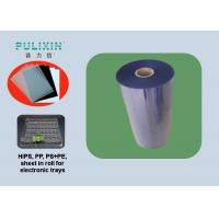 Buy cheap Transparent Plastic Sheet Roll, High Impact Polystyrene (HIPS) Sheets at 1.5mm for Thermoforming from wholesalers