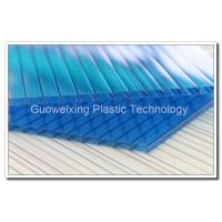 China Plastic Polycarbonate Sheet Polycarbonate Hollow Sheet  For Greenhouse on sale