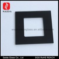 China 86MM Square decorative wall switch outlet cover plates frame window glass pane on sale