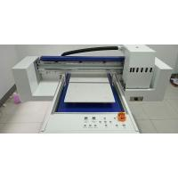 Quality 8 Colors Tee Shirt Printing Machine Flatbed Printer 600 * 1200mm Printing Size for sale