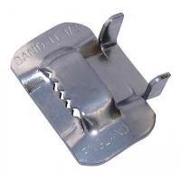 Quality Piples Fixing Use Stainless Steel Strap Buckles , Metal Banding Clips BK Type for sale