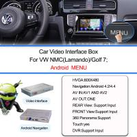 Quality Auto Video Interface Android GPS Navigation For VW Lamando , Wifi / Bt / Tv/ DVD for sale