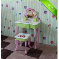 Elegant Wooden Children dressing table with chair