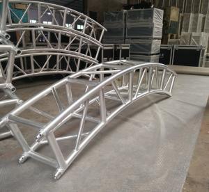 Buy cheap 400*400mm Aluminum Alloy 6082-T6 Square Spigot Arch Lighting Truss / Aluminum Roof Truss product