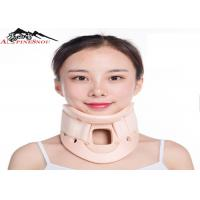 Quality Comfortable PVC Rehabilitation Therapy Cervical Collar Neck Support Neck Brace for sale