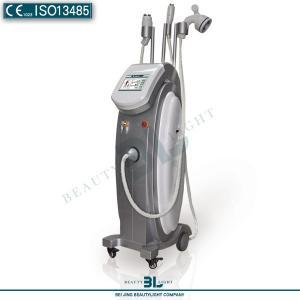 Quality 3 in 1 Tripolar RF Vacuum Cavitation Slimming Machine for Tripolar Fat Burning for sale
