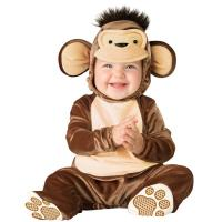 Monkey Infant Baby Acting Costumes Halloween Baby Clothes Custom Made
