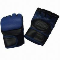 Buy cheap Boxing Gloves, Used for Fighting Games or Competition, Made of PU from wholesalers