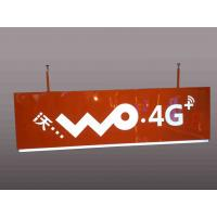 Quality Telecom Operators Service Rectangular Shaped Sign Double Sides For Wayfinding for sale