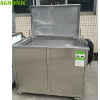 China 120 Cm Long Ultrasonic Cleaning Tank With Basket To Clean All Parts Before NDT Testing on sale