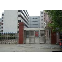 China Double lane full height turnstile security revolving gate for schools on sale