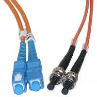 Buy cheap Duplex ST to SC Multimode Fiber Optic Patch Cord for Telecommunication Networks from wholesalers