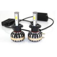 Quality Brightest 9005 9007 H13 H4 Car LED Headlight Bulbs , Hb3 9005 Halogen Replacement Bulb for sale