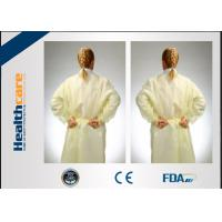 Buy Non - Irritating Disposable Isolation Gowns Non-woven 16-70G Patient Exam Gowns at wholesale prices