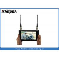 Buy cheap Touch Screen HD Wireless Video Receiver 7 Inch LCD Monitor For COFDM Transmitter product