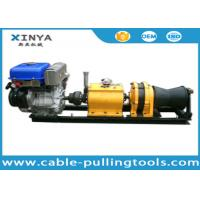 Quality 5 Ton Fast Line Speed Cabel Capstan Winch With Yamaha Gasoline Engine for sale
