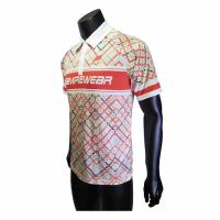 China Anti Wrinkle Polo Sport T Shirt / Adults And Youth Polyester Polo T Shirts on sale