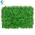Anti UV Artificial Vertical Garden , 40*60cm Artificial Plastic Grass For Fence for sale