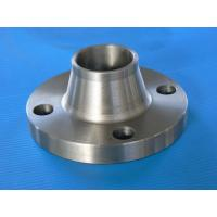 Buy cheap ANSI DIN Standard Forged Steel Flanges / Welding Neck Flange , Stainless Steel Diameter 200 - 1200 mm UT test product