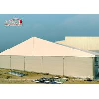 Buy cheap 25 Meter Width Warehouse Marquee Canopy Tent with Steel Sandwich Panels from wholesalers